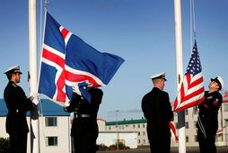 Bandaríski herinn yfirgaf flotastöðina í Keflavík árið 2006.