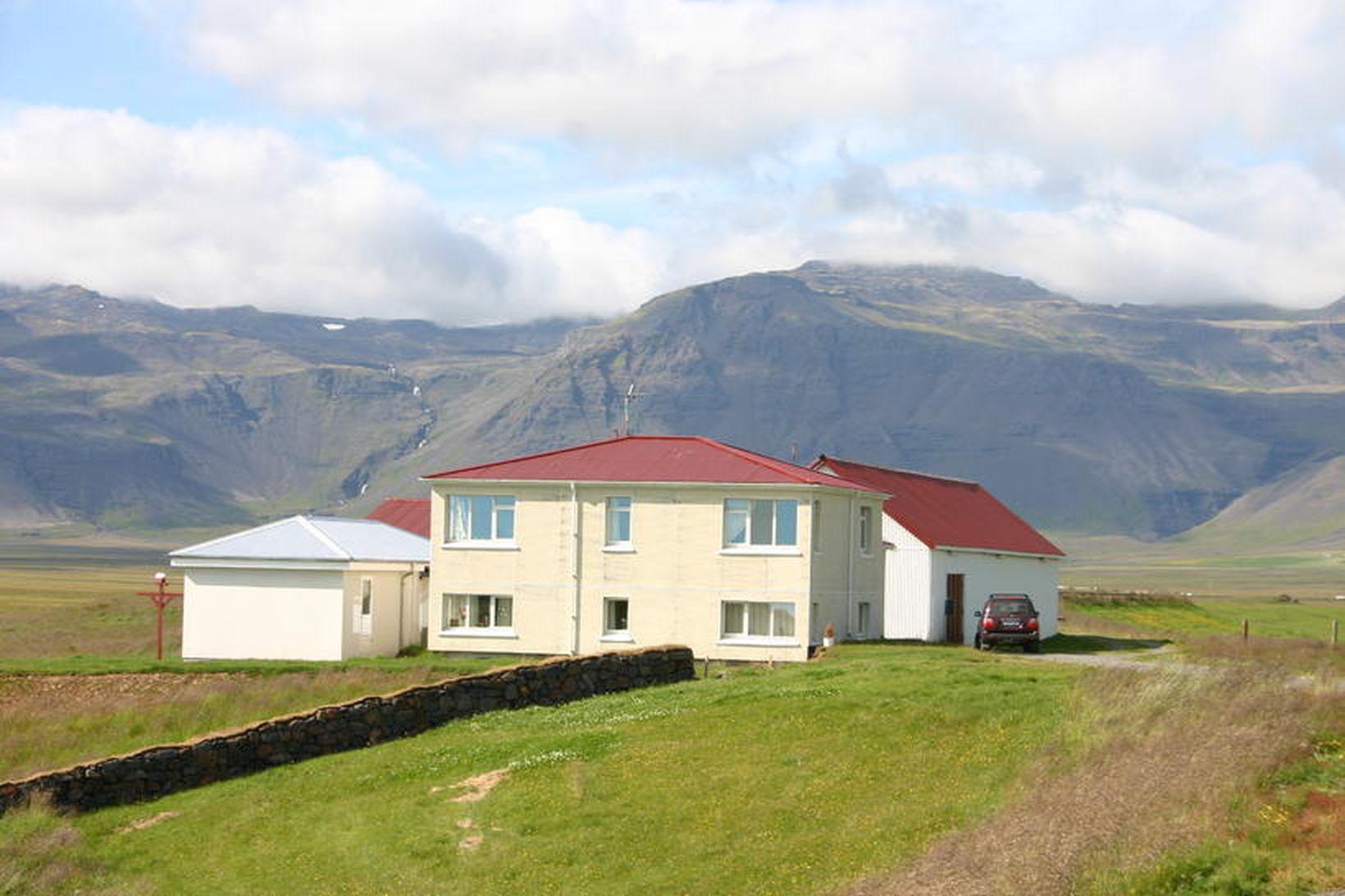 Prestbústaðurinn að Staðastað.