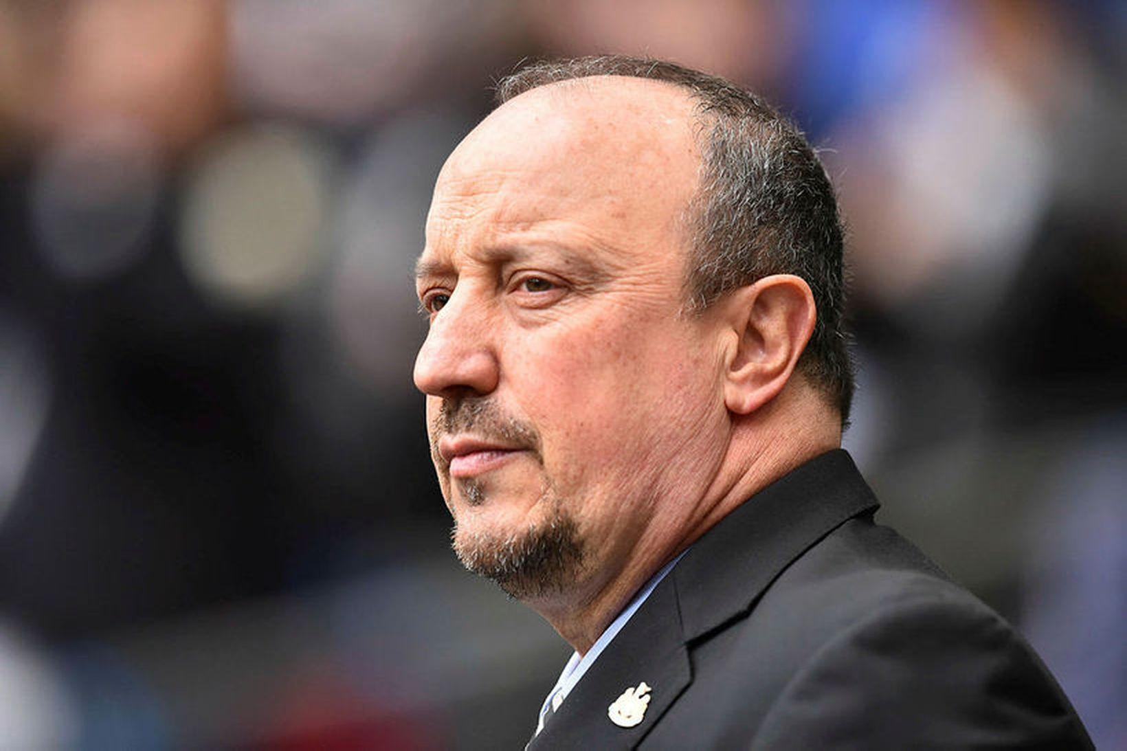 Rafael Benítez fór ekki í góðu frá Newcastle.