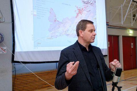 Magnús Tumi Guðmundsson jarðeðlisfræðingur.