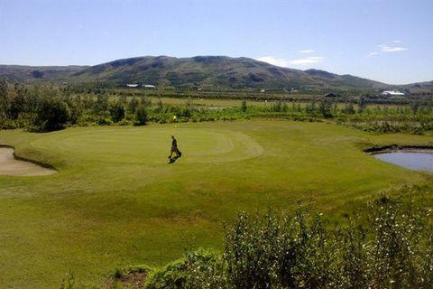 Hlidarvollur and Bakkakot Golf Club