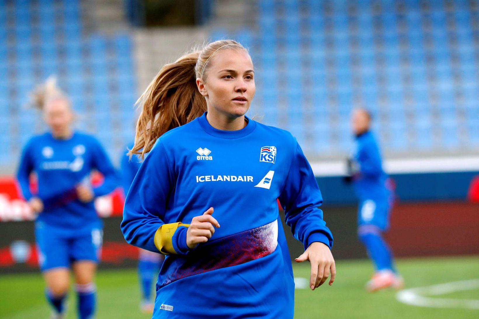 Glódís Perla Viggósdóttir er lykilmaður hjá Rosengård.