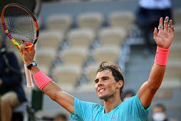 Rafael Nadal hlaut verðlaunin árið 2011 eða fyrir áratug síðan og á aftur möguleika nú.