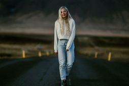 Christina Raytsiz flutti til Íslands.