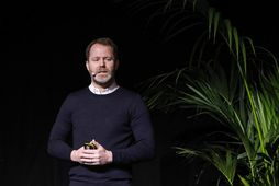 Björn Traustason á Húsnæðisþingi í morgun.
