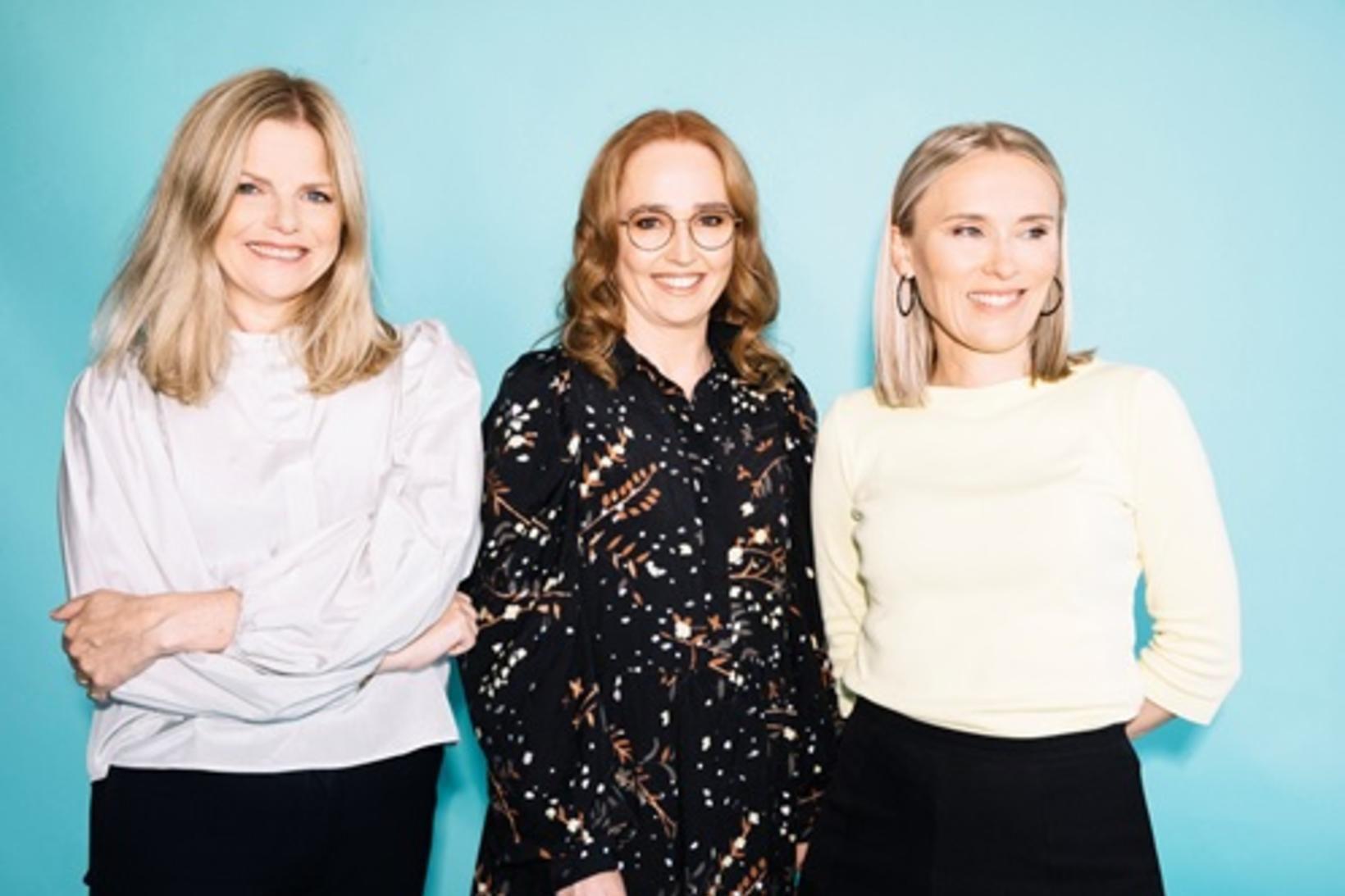 Helga Valfells, Hekla Arnardóttir og Jenný Ruth Hrafnsdóttir.
