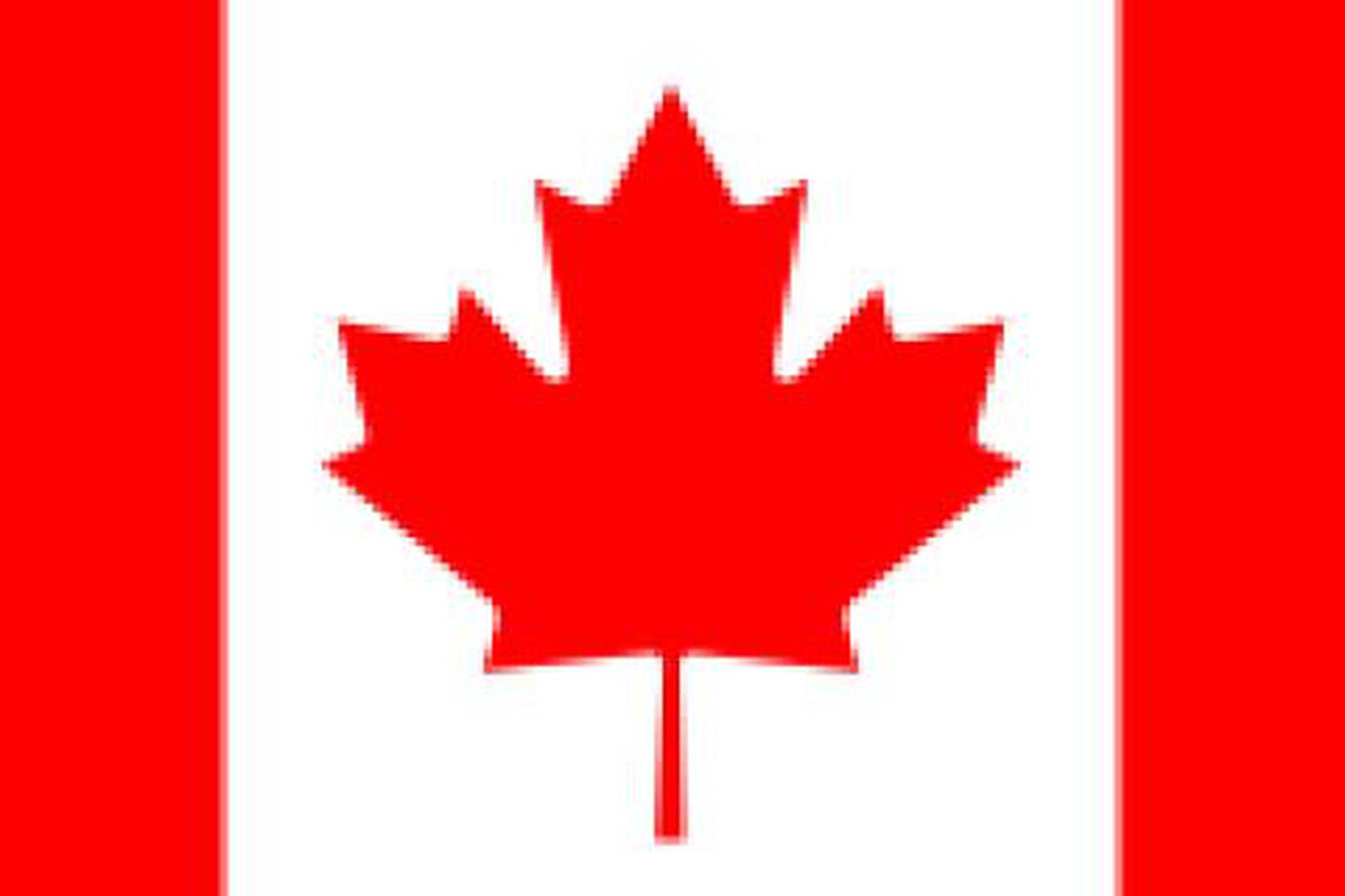 Fáni Kanada.