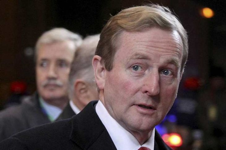 Ireland's Prime Minister Kenny arrives at an European Union summit in Brussels December 8, 2011. ...