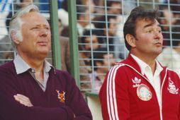 Peter Taylor og Brian Clough náðu ótrúlegum árangri með Derby og Nottingham Forest á sínum …