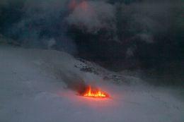 Á myndinni sést inn í Þórsmörk.