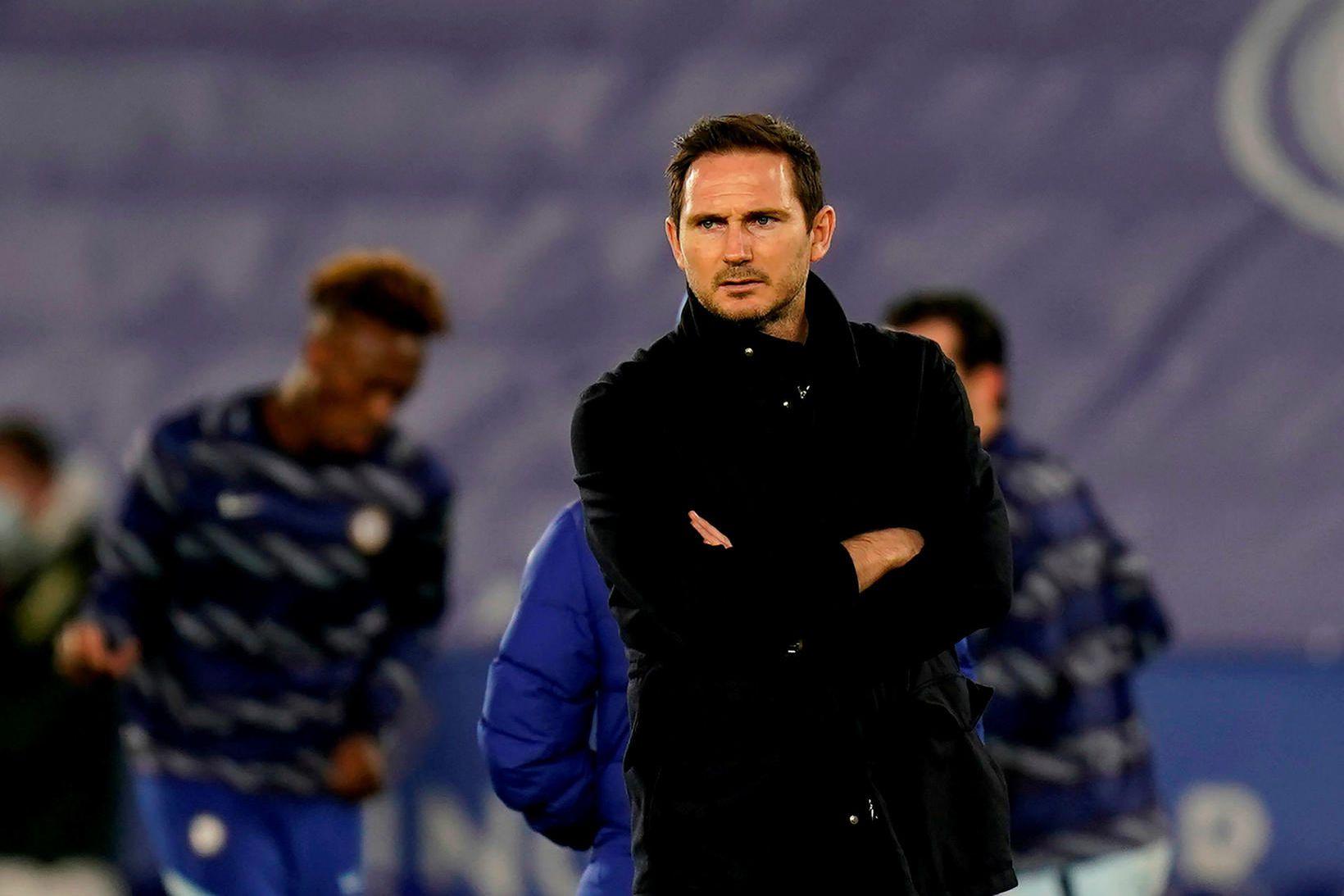 Frank Lampard hefur yfirgefið Stamford Bridge.