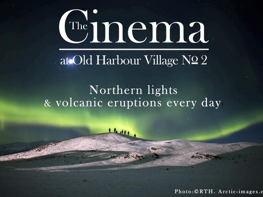 Film shows at THE CINEMA, Old harbour Reykjavik