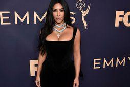 Kardashian West á rauða dreglinum.
