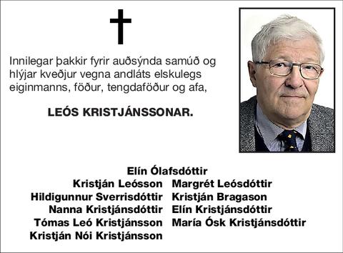 Leós Kristjánssonar.