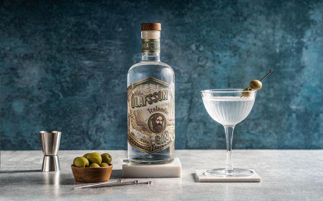 Ólafsson gin er næstbesta fáanlega ginið í martini-kokteila að mati hins virta Beverage Testing Institute.