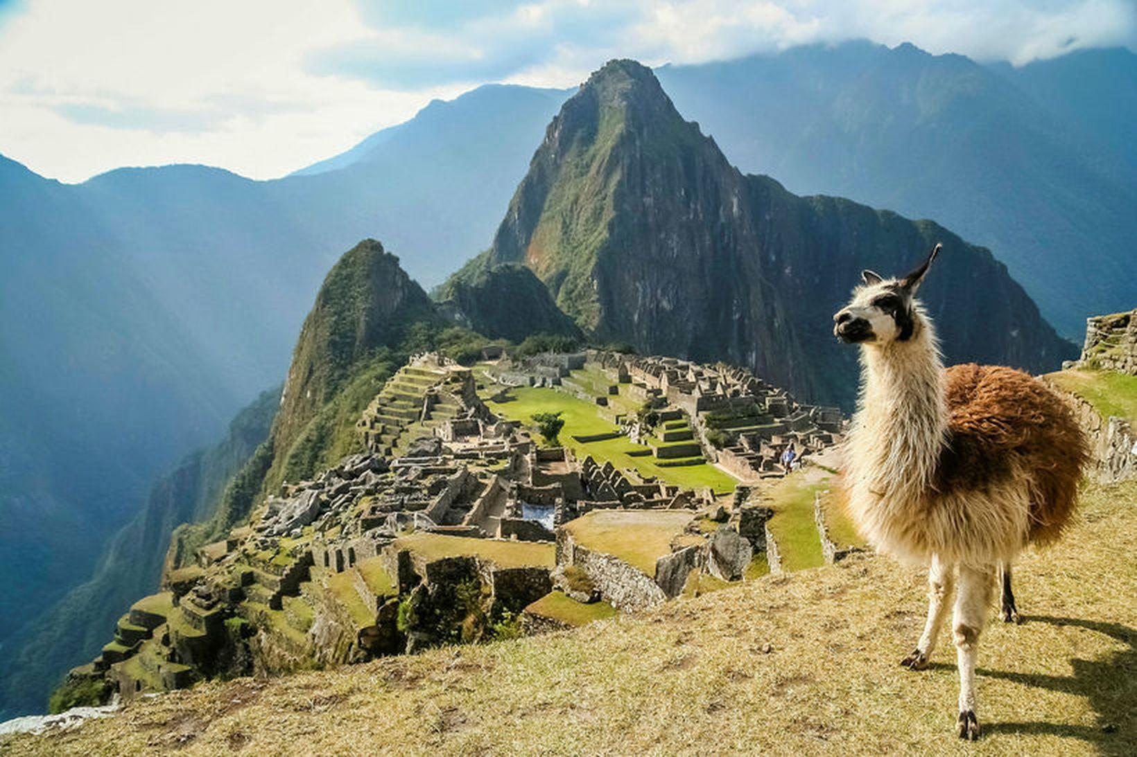 Engir ferðamenn hafa fengið að koma að Machu Picchu í …