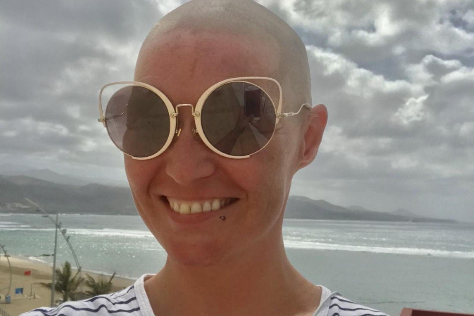 Hildur Lilliendahl Viggósdóttir er á Kanarí með foreldrum sínum.