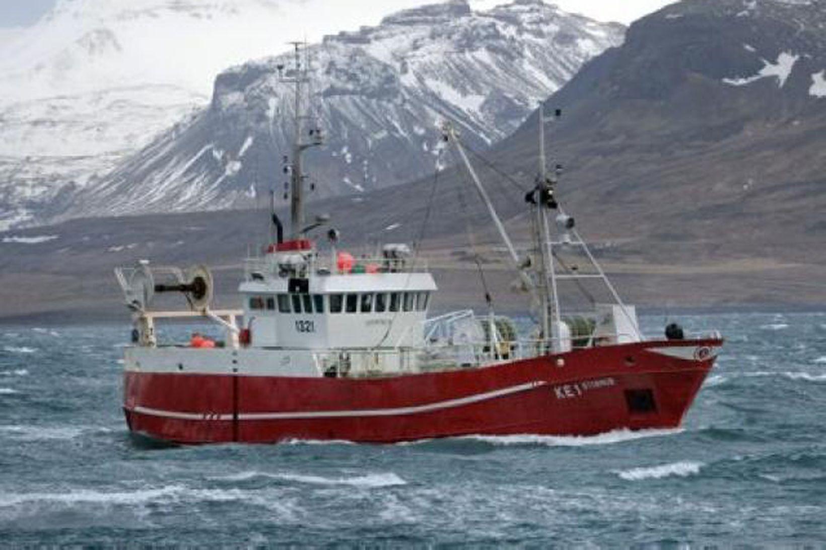 Fiskiskipið Stormur.