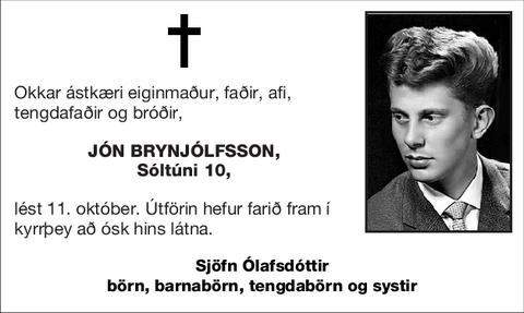 Jón Brynjólfsson,