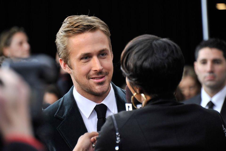 Ryan Gosling á frumsýningu nýjustu kvikmyndar sinnar, The Place Beyond The Pines í New York …