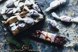Algjörlega ómótstæðilegt konfekt - bæði í mat og mynd.