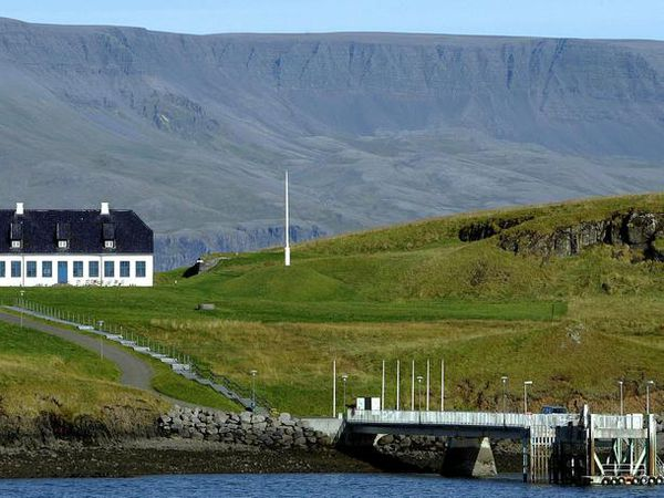 Viðey Island is owned by the city of Reykjavik.