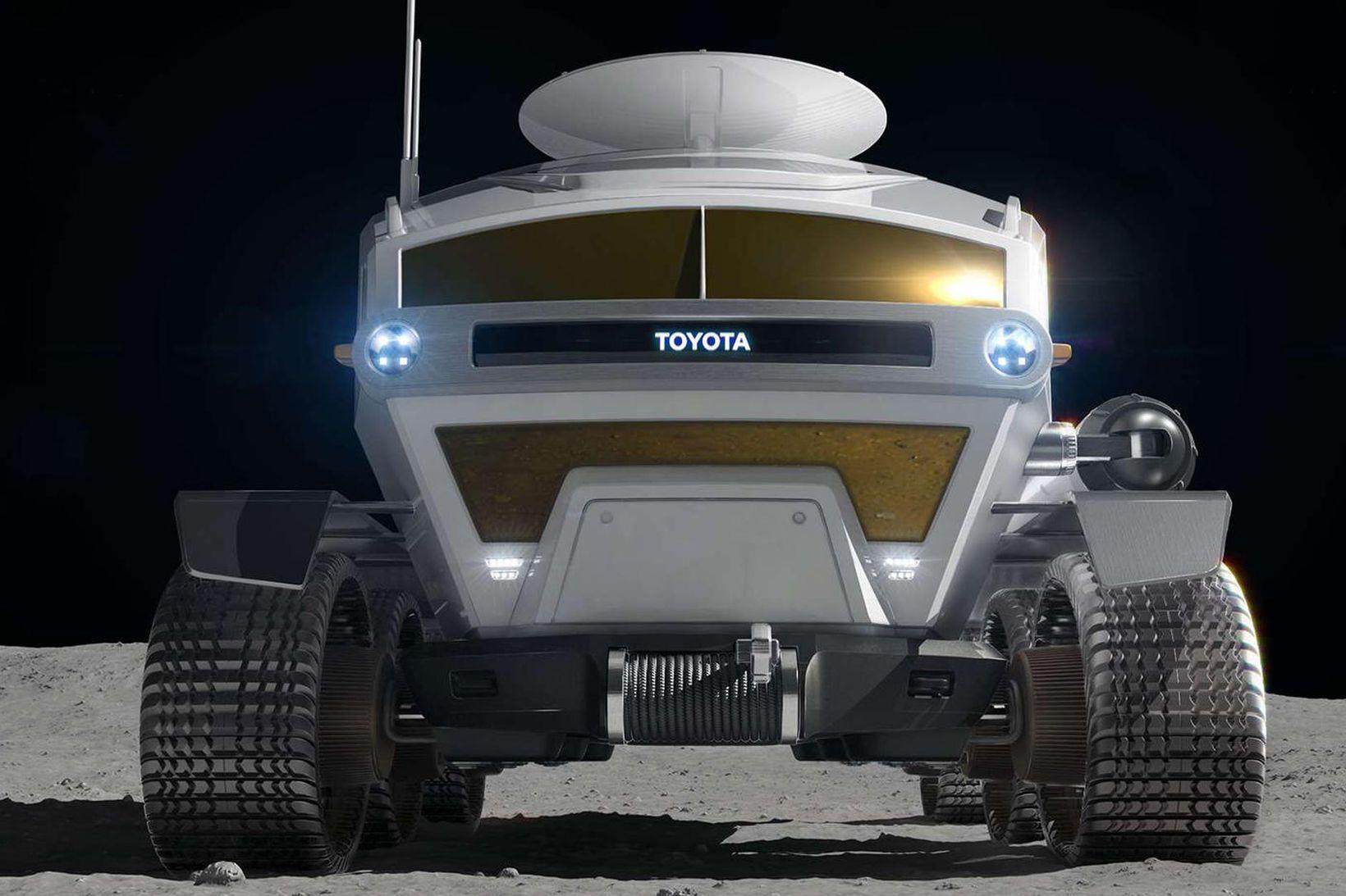 Tungljeppi Toyota, Lunar Cruiser, er frábrugðinn öllum farartækjum sem japanski …