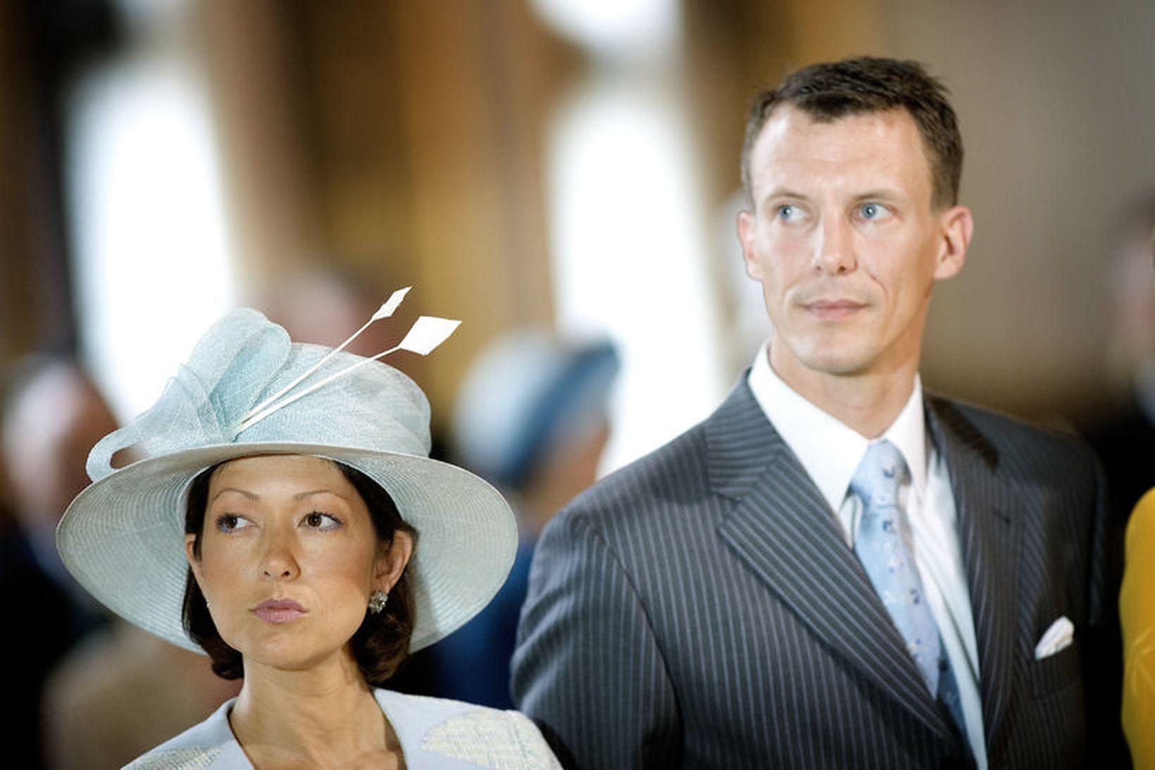 Alexandra og Jóakim hafa verið skilin í 16 ár.