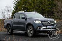 Mercedes benz pallbíll