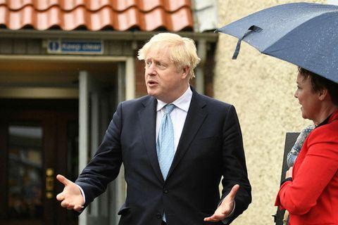 Boris bregst við niðurstöðum kosninganna í Skotlandi.