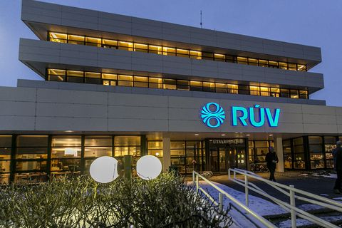 RÚV is in more debt than its revenue for an entire year.
