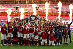 Arsenal er enskur bikarmeistari.