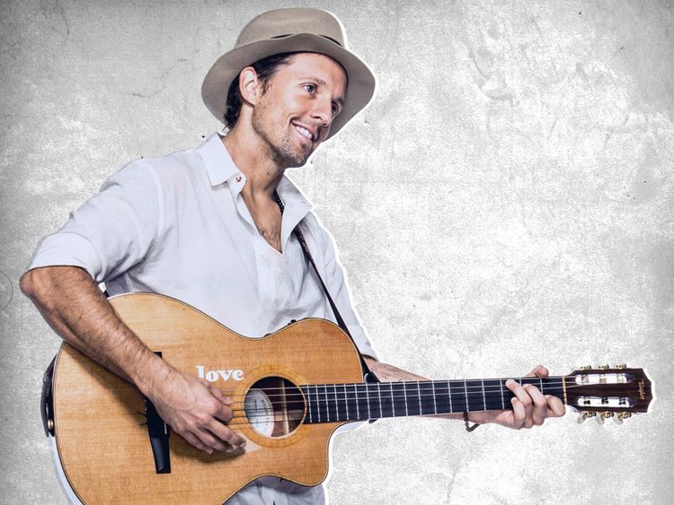 Evening with Jason Mraz and his Guitar is