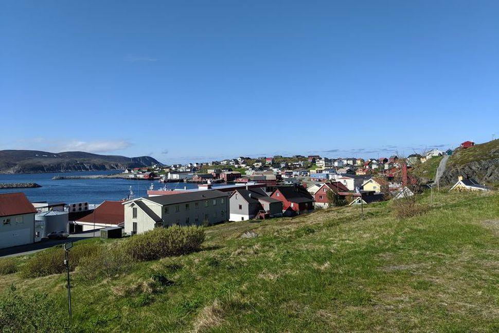 Mehamn, hluti af sveitarfélaginu Gamvik í Finnmörk.