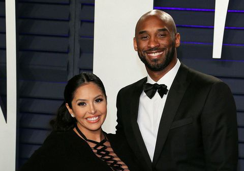 Vanessa Laine Bryant og Kobe Bryant.