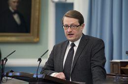 Birgir Ármannsson, MP.