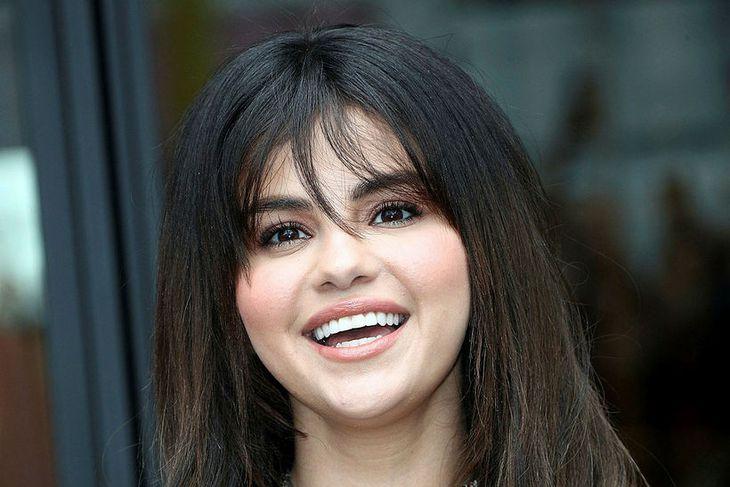 Selena Gomez í byrjun september.