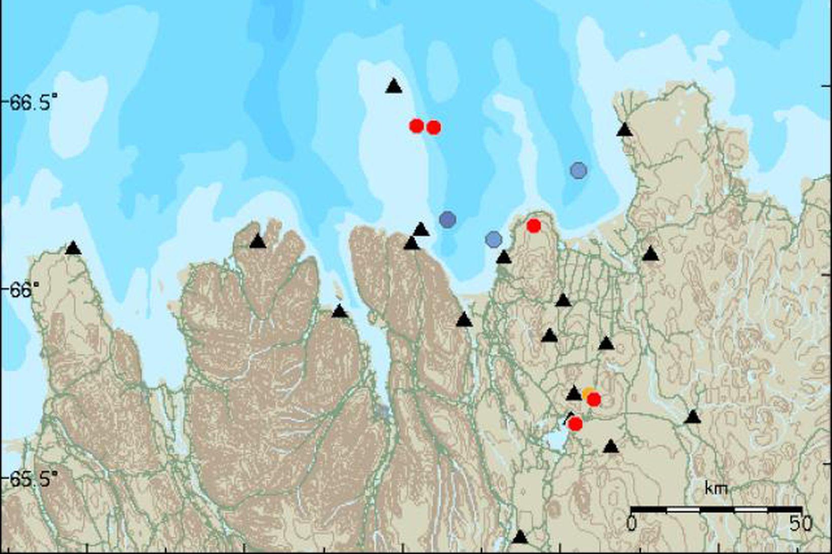 Kort af svæðinu