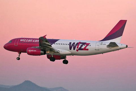 The aircraft, where the incident took place, is from Wizz Air.
