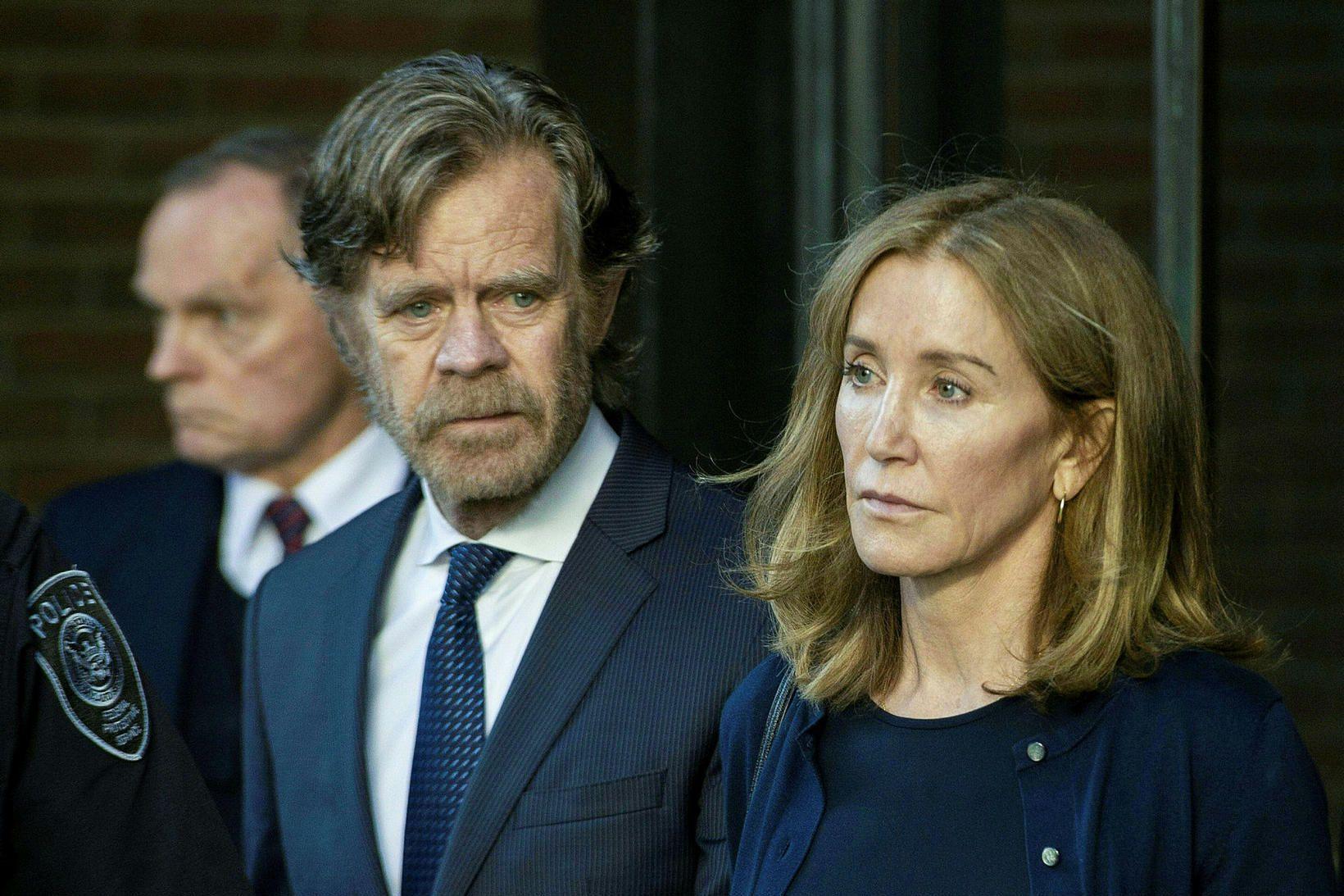 Leikkonan Felicity Huffman hefur einnig fengið dóm fyrir að greiða …