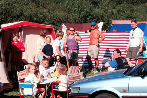 Campsites will likely be full this weekend even though all festivals have been cancelled.