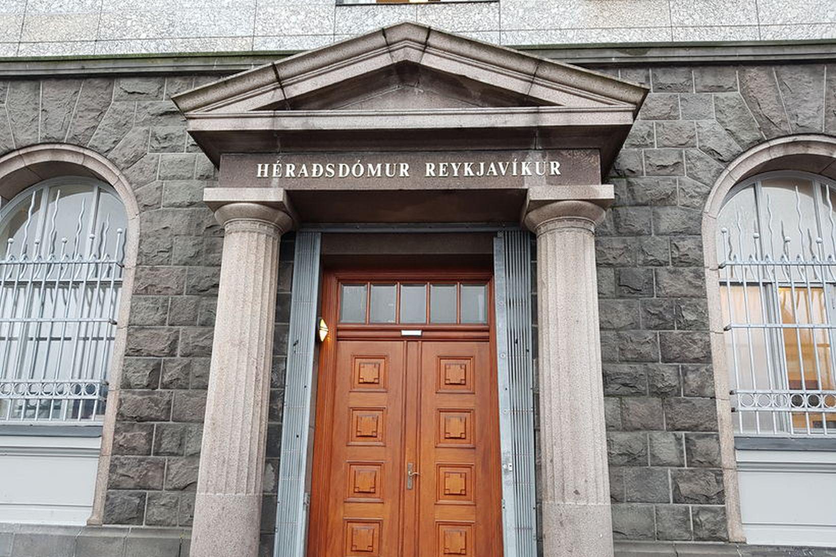 Héraðsdómur Reykjavíkur.
