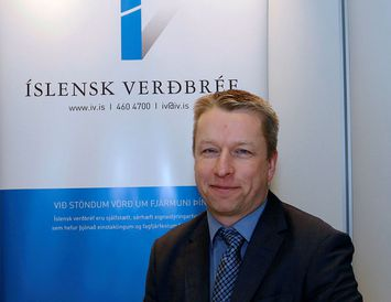 Jón Helgi Pétursson, framkvæmdastjóri Íslenskra verðbréfa.