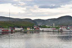 Um 1.100 manns búa í Mehman í Norður-Noregi.