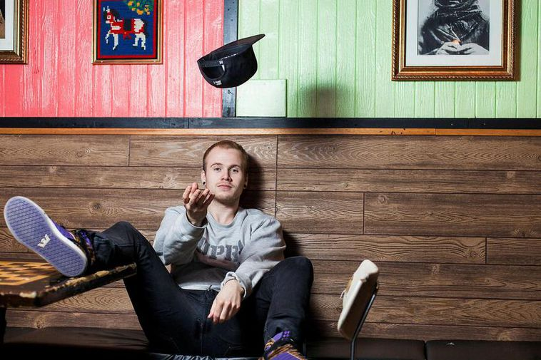 Icelandic rapper Emmsjé Gauti is apparently Iceland's favourite musical artist.