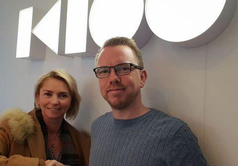 Margrét Gústavsdóttir og Ragnar Þór Ingólfsson