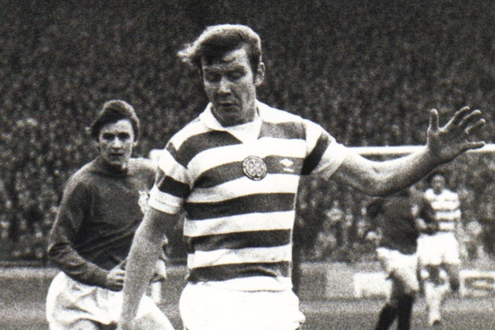 Jóhannes Eðvaldsson í leik með Celtic.