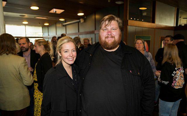 Anna Björk Sigurjónsdóttir og Valdimar Guðmundsson eignuðust son á mánudagskvöldið.