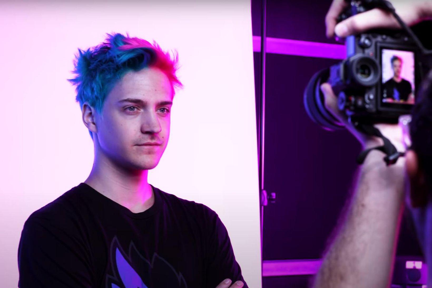 """Tyler """"Ninja"""" Blevins, fylgjendahæsti einstaklingurinn á Twitch 2021."""