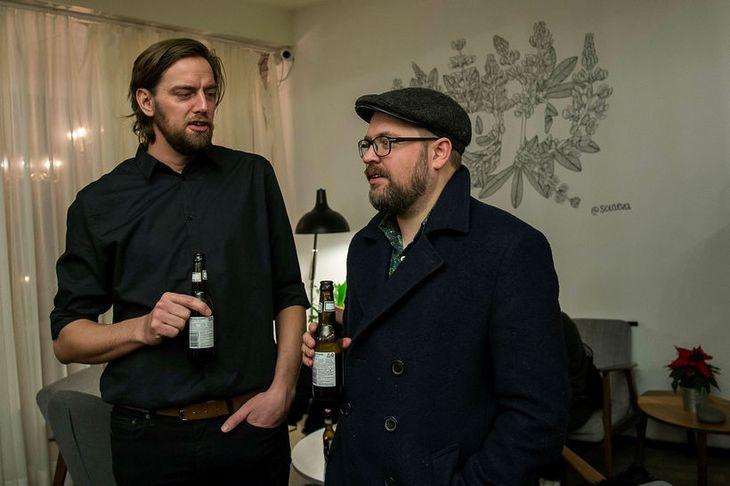 Jón Ólafur Stefánsson og Páll Guðmundsson.